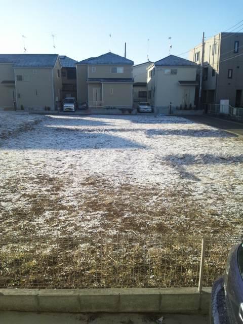雪が降ったようですね