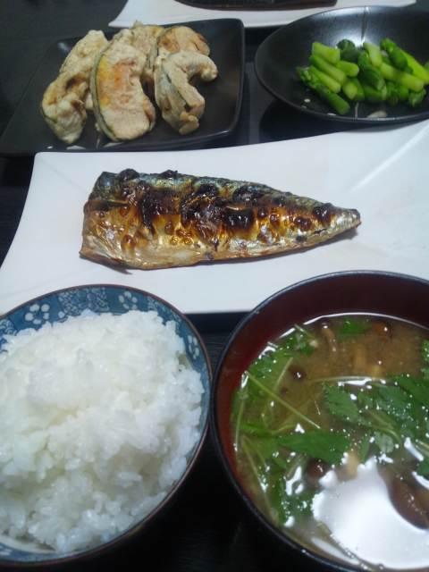 今日の夕食♪