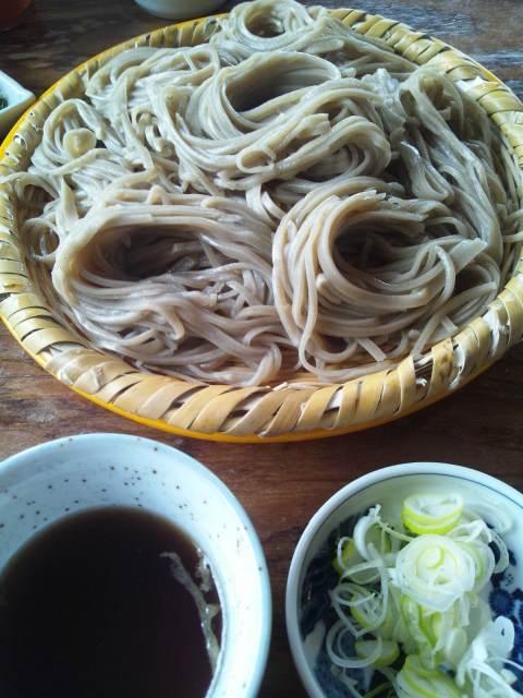 美味しいそば、中野市  郷土食堂