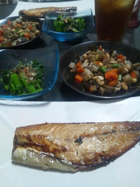 これから夕食♪
