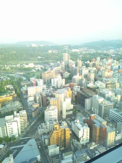 ウェスティンホテル仙台の朝です♪