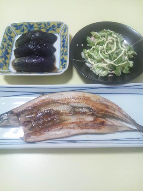 次郎さんの夕食♪