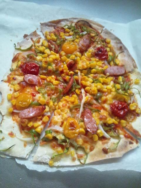 ダイエット中でも、ピザ食べたい( ̄∇ ̄*)ゞ