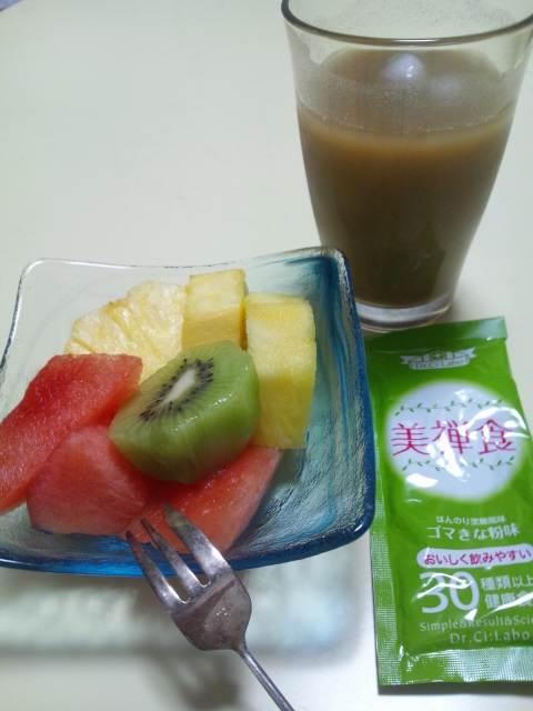 私の夕食♪