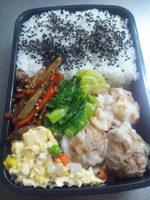 今日のお弁当(^-^)v