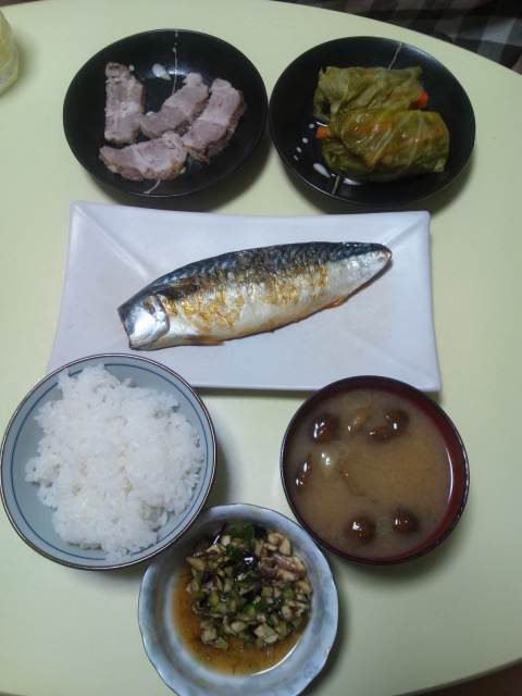 次郎さんの夕食(^-^)v